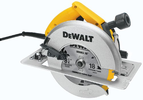 DEWALT-DW384-8-14-Inch-Circular-Saw-with-Brake-and-Rear-Pivot-Depth-of-Cut-Adjustment
