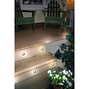 low voltage led deck light kit 6 pack patio deck lights patio. Black Bedroom Furniture Sets. Home Design Ideas