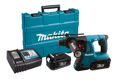 Makita HRH01 36-Volt LXT Lithium-Ion Cordless 1-Inch Rotary Hammer Kit (Makita Hammer Drill Sds Cordless compare prices)