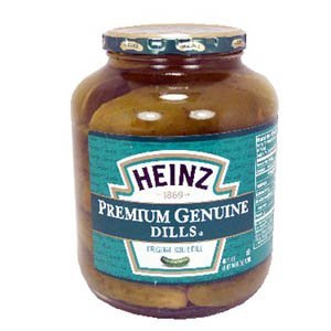 Heinz Genuine Dill Pickles 46 oz - 3 Unit Pack