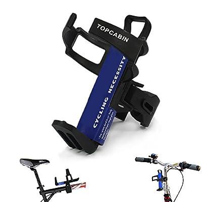 TOPCABIN Adjustable Bike Bicycle MTB Water Bottle Holder Water Bottle Rack Cage Black