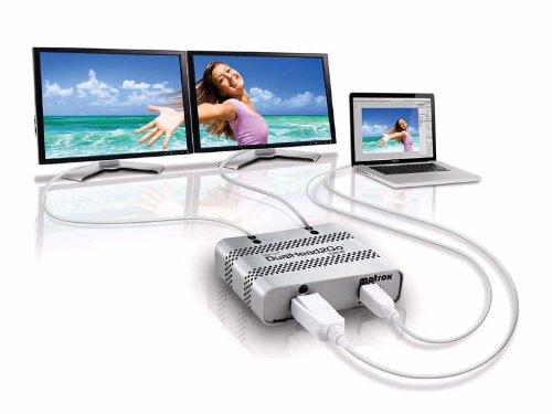 Matrox DualHead2Go Mac Edition Dual Digital Display Support Adapter Black Friday & Cyber Monday 2014