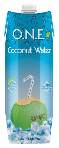 O.N.E. 100% Natural Coconut Water, 33.8oz