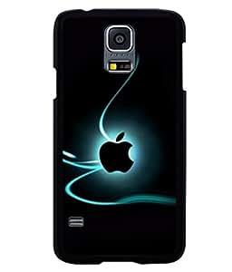 printtech Apple Streaks Back Case Cover for Samsung Galaxy S5 Mini::Samsung Galaxy S5 Mini G800F