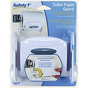 Safety 1st Toilet Paper Guard - Stops children and pets from unraveling toilet paper.
