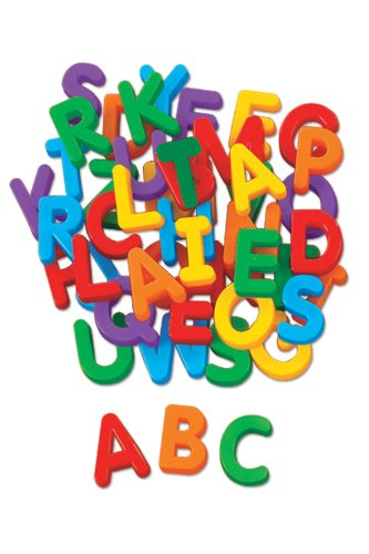 Uppercase Magnetic Letters - 1