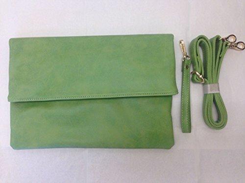レディース クラッチバッグ ショルダーバッグ セカンドバッグ (二つ折り、全4色)