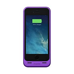 Mophie Juice Pack MFi Approved Helium Battery Case for iPhone 5/5s - Metallic Purple
