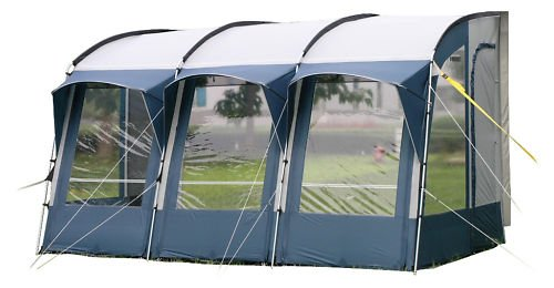 Royal Wessex 390 Caravan Porch Awning. : Blue