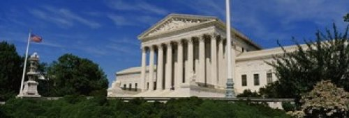 Us Supreme Court Building, Washington Dc, District Of Columbia, Usa Poster Print By Panoramic Images (36 X 12)
