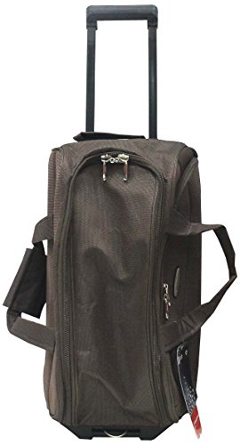 Princeware Princeware Russel Polyester 62 Cms Brown Travel Duffle (6961)