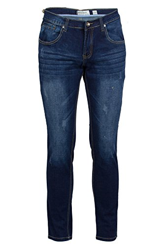 Jeans slim fit dark stone wash - Taglia: 46