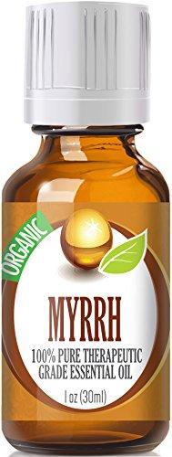 Myrrh (Organic) 100% Pure, Best Therapeutic Grade Essential Oil - 30 Ml