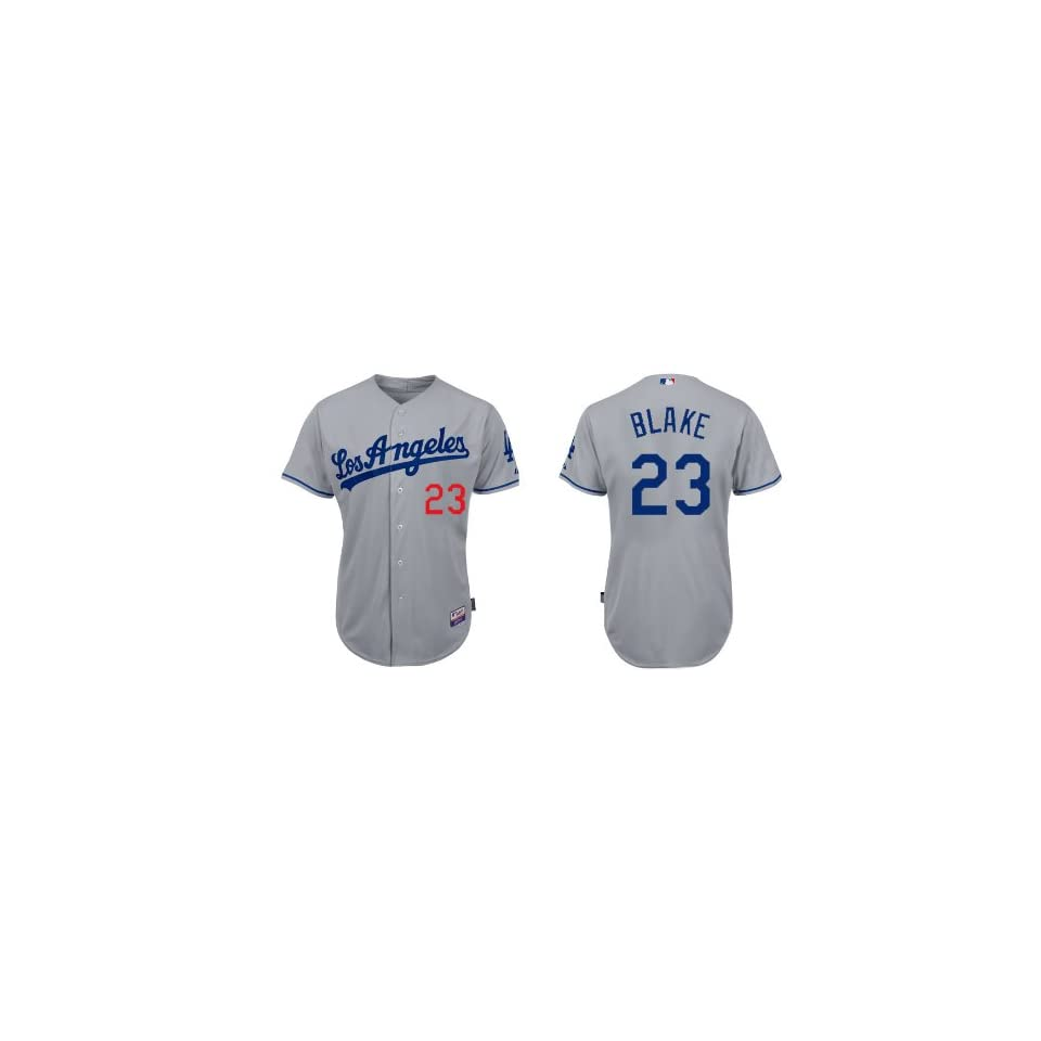 Los Angeles Dodgers #23 Casey Blake Grey 2011 MLB Authentic Jerseys Cool Base Jersey Size 48 56 Drop Shipping