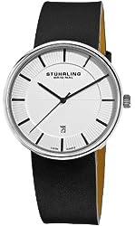 Stuhrling Original Men's 244.33152 Classic Ascot Fairmount Stainless Steel Watch