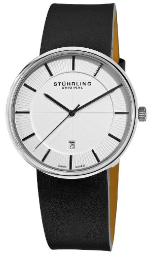 Stuhrling Original Men's 244.33152 Classic Ascot Fairmount Stainless Steel Watch