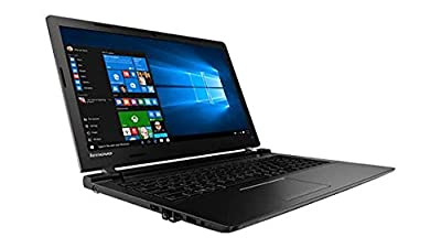 Lenovo Ideapad 100 Premium Laptop PC, 15.6-inch HD Display, Intel Celeron N2840 2.16GHz Processor, 4GB DDR3L RAM, 500GB HDD, DVDRW, Windows 10