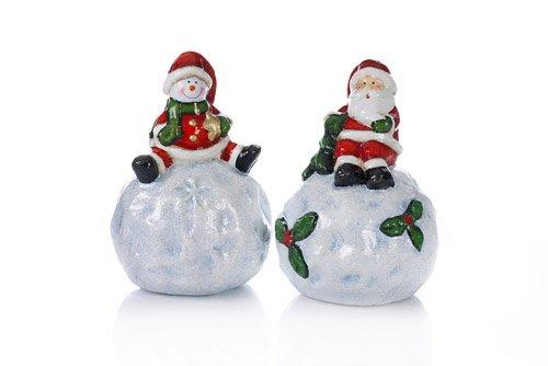 Happy People 44584 - TIB Weihnachtsmann und Schneemann