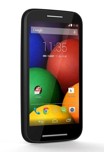 Motorola Moto E Smartphone débloqué 3G (Ecran: 4.3 pouces – 4 Go – Android 4.4 KitKat) Noir