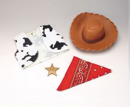 Woody Accessory Kit Costume Set