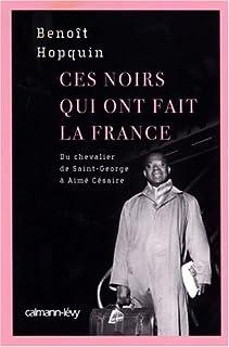 Ces noirs qui ont fait la France, Hopquin, Benoît