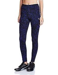Puma Women's Track Pants (59154721_Royal Blue_XL)