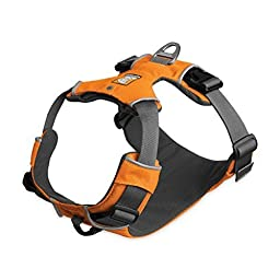 Ruffwear Front Range Harness, Large/X-Large, Campfire Orange by Ruffwear