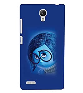Printvisa Animated Cartoon With Spectacles Back Case Cover for Xiaomi Redmi Note::Xiaomi Redmi Note 4G