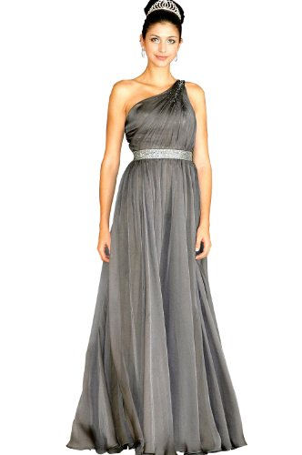 eDressit Grey Party Ball Gown Evening Dress (00094408) SZ 12