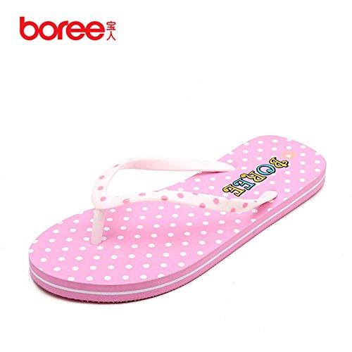 flops/Sandales mode femmes/Pincer avec les sandales plates/Chaussons anti-dérapant étudiant/Chaussons confortables
