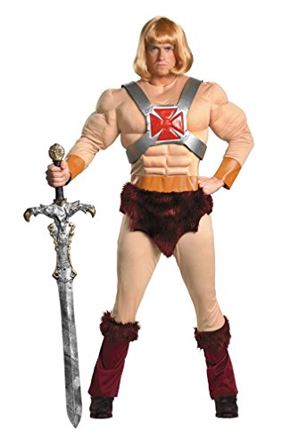 Disguise Inc - Masters Of The Universe - He-Man Adult Costume - X-Large (42-46)