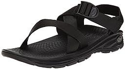 Chaco Men\'s Zvolv Sport Sandal, Black, 13 M US