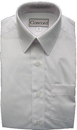 White Shirt Dress on Amazon Com  Concord Boys White Dress Shirt   Short Sleeves  Clothing