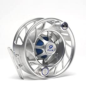 Hatch 9 Plus Finatic Fly Fishing Reel Clear/Blue by Hatch Outdoors