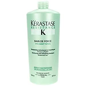 Kerastase Bain De Force - Vita-Ciment Topseal - 34oz