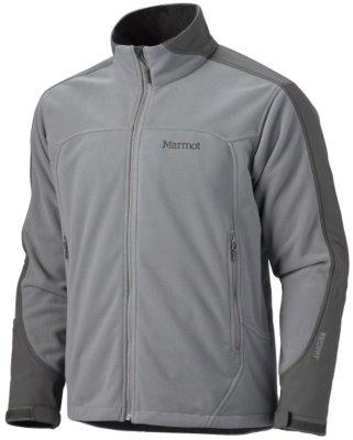 Marmot Afterburner Fleece Jacket - Men's Gargoyle/Slate Grey, XL
