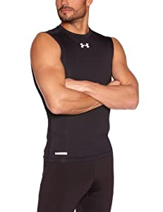 Under Armour Sonic Compression Men's T-Shirt Sleeveless - Black, L