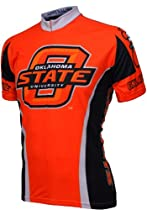 NCAA Oklahoma State Cycling Jersey,Large