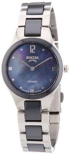 Boccia Titanium Ceramic Ladies Watch 3221-02