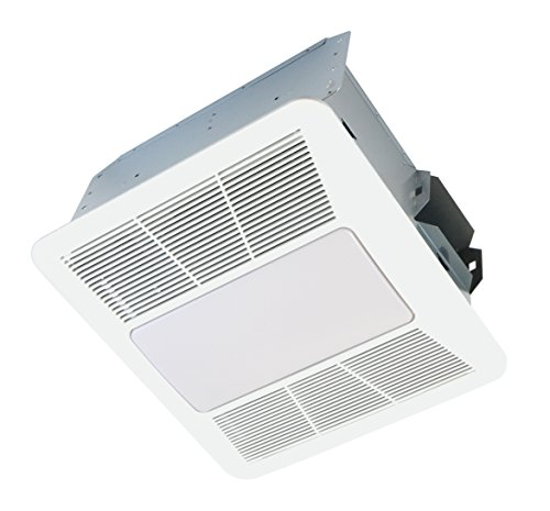 KAZE APPLIANCE SE110L2 Ultra Quiet Bathroom Exhaust Fan with LED Light and Night Light, 110 CFM, 0.9 Sones (Led Exhaust Fan compare prices)