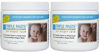 Triple Paste Medicated Ointment for Diaper Rash - Fragrance Free - 16 oz - 2 pk by Triple Paste