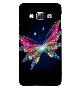 SAMSUNG GALAXY A3 BUTTERFLY Back Cover by PRINTSWAG