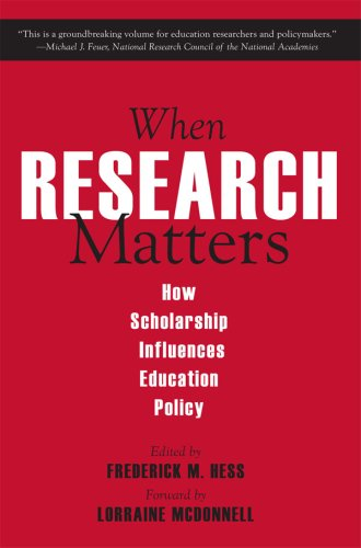 When Research Matters: How Scholarship Influences...