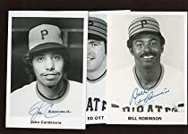 Amazing 1970S Pittsburgh Pirates Team Issued Photos Autographed 3 Squirreltailoven Fun Painted Chair Ideas Images Squirreltailovenorg