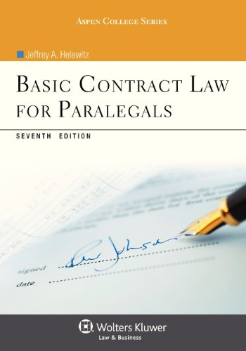Free Download Basic Contract Law For Paralegals Seventh Edition - Online contract law