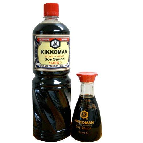 1liter-kikkoman-pet-sojasauce-150ml-tischflasche-aus-glas