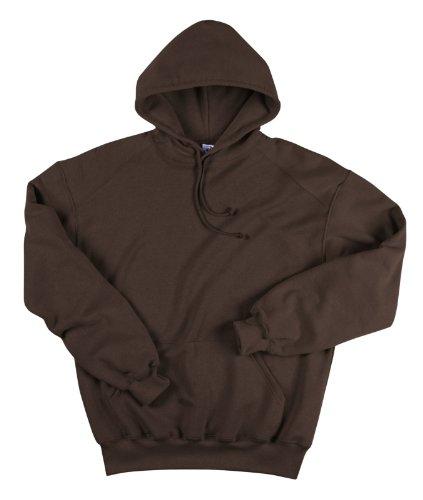 1254 Badger Hooded Sweatshirt (Brown / Xl)