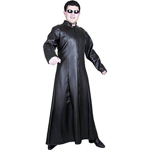 Matrix Neo Street Fighter Teen Costume (The Matrix Neo Costume)