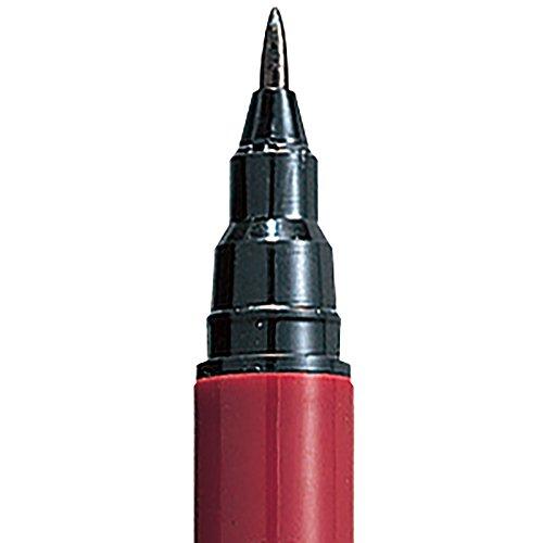 Kuretake Felt tip Japanese Fude Brush Pen No.55, Black (DF150-55B)