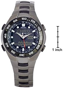 Buy Seiko Mens Watch SNJ015 by Seiko